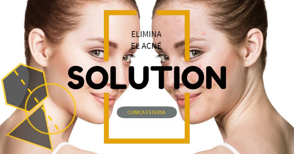 La solución para eliminar el acné la encuentras en la Clínica Médico Estética Estersa.
